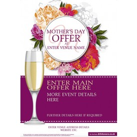 Mothers Day flute Flyer (A5)