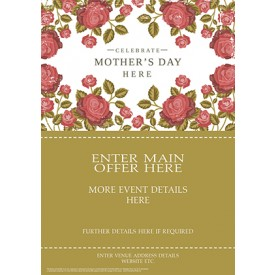 Mothers Day Roses (A2)
