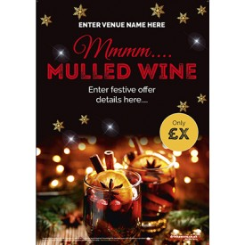 Christmas Mulled Wine Poster (A3)