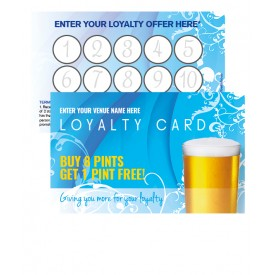 Pint Fresh Loyalty Card