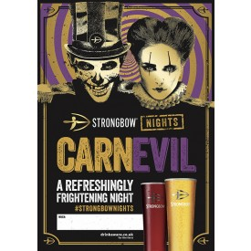 Strongbow Halloween Empty Belly Poster