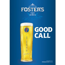 Foster's 'Good Call' Generic Poster