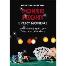 Poker Night Poster (photo) (A2)