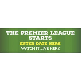 The Premier League Starts Banner (Lrg)