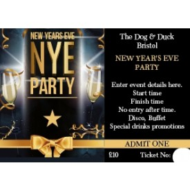 New Year's Eve Ticket v1 (+ loyalty stamp)