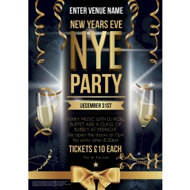 New Years Flyer (A5)