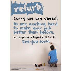 Refurb Poster (A3)