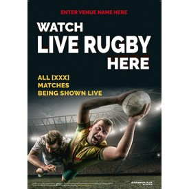 Rugby Poster (photo v4) (A2)