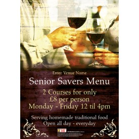 Senior Savers Flyer (A5)