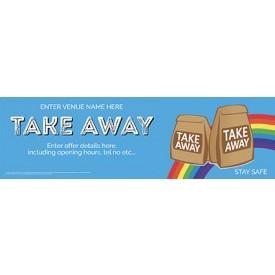 Take Away (v5) Banner