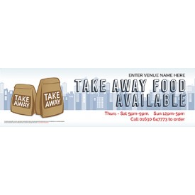 Take Away (v2) Banner