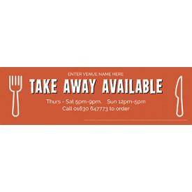 Take Away (v4) Banner