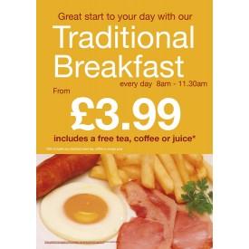 Traditional Breakfast Flyer (A5)