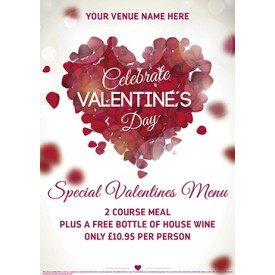 Valentines Night Flyer (A5)