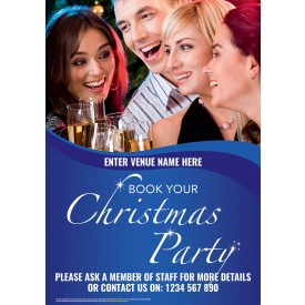 Christmas Party Poster (A3)