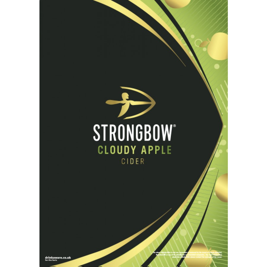 Strongbow Cloudy Generic Poster