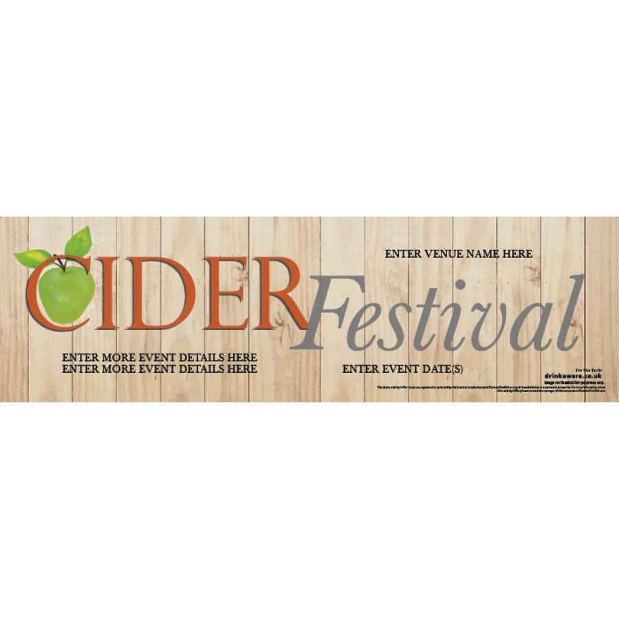 Cider Festival Banner