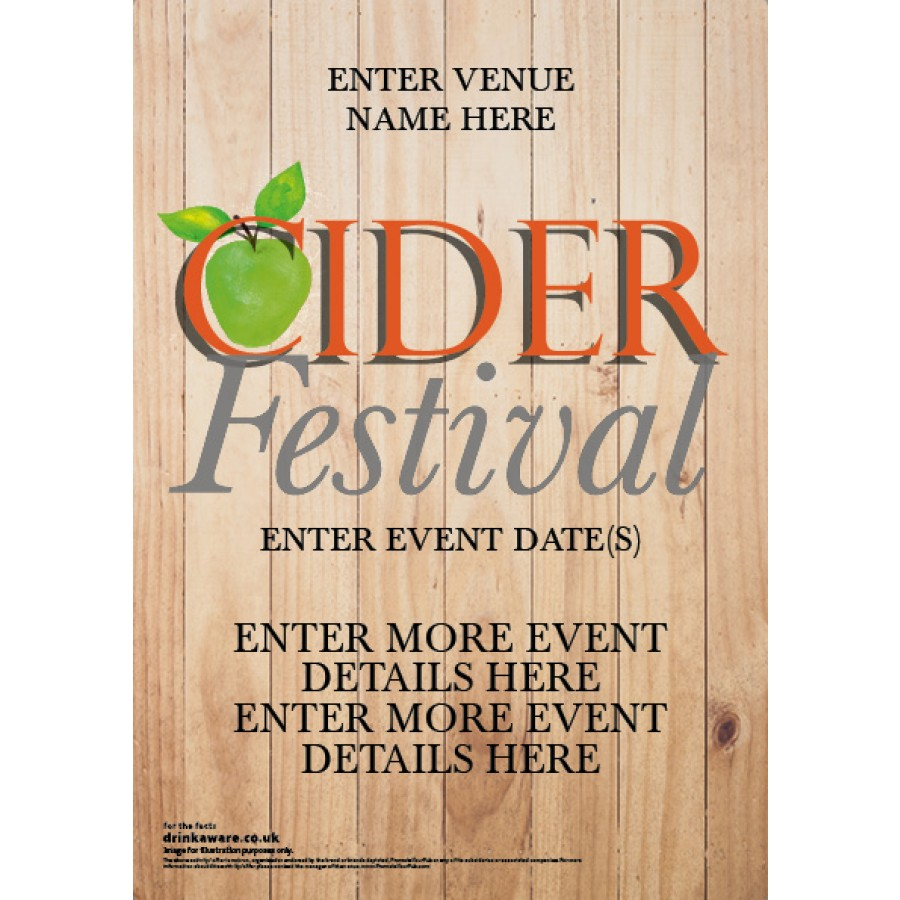 Cider Festival Poster