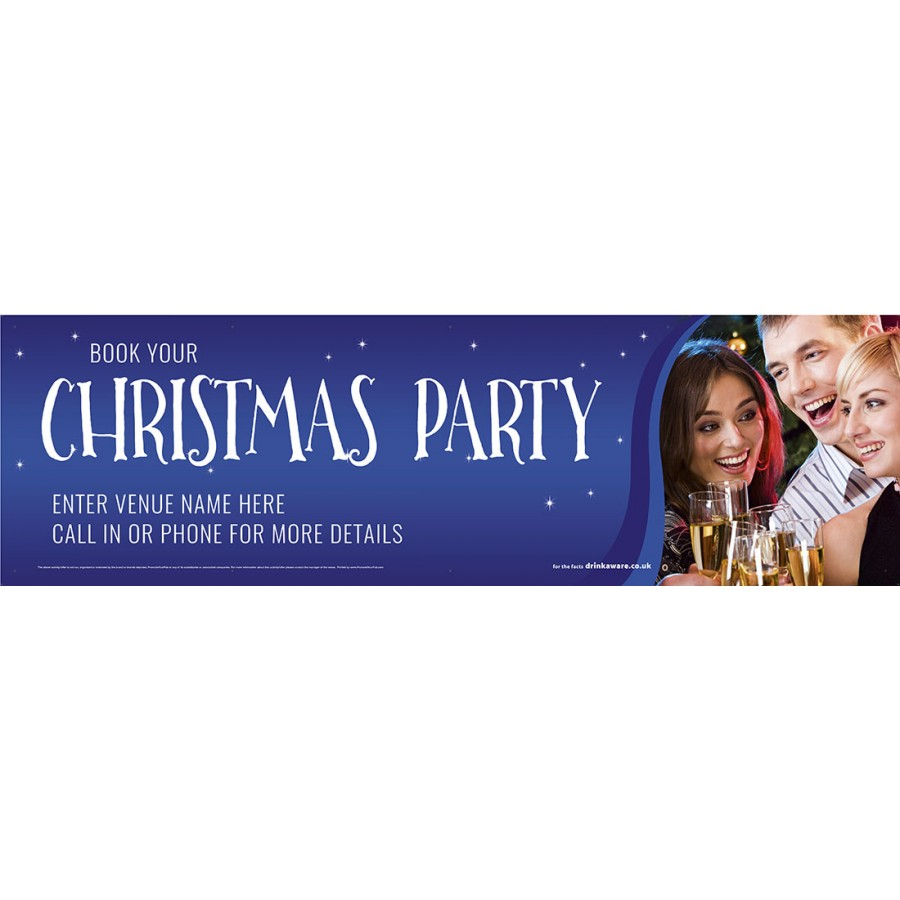 Christmas Party Banner (Lrg)