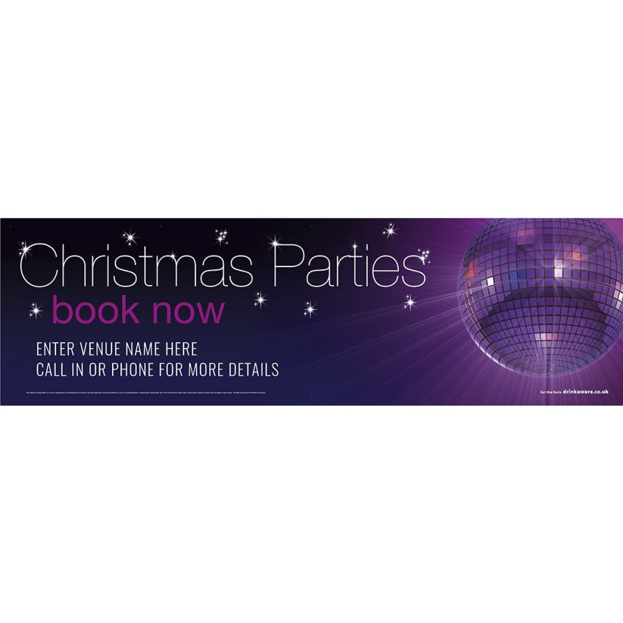 Christmas Disco Banner (XL10')