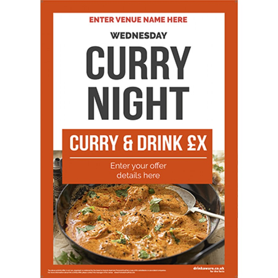Curry Night Poster (photo2) (A2)