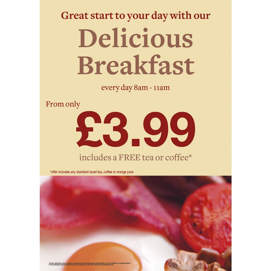 Breakfast Poster (A2)