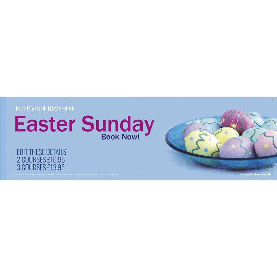 Easter Sunday Banner (Lrg)