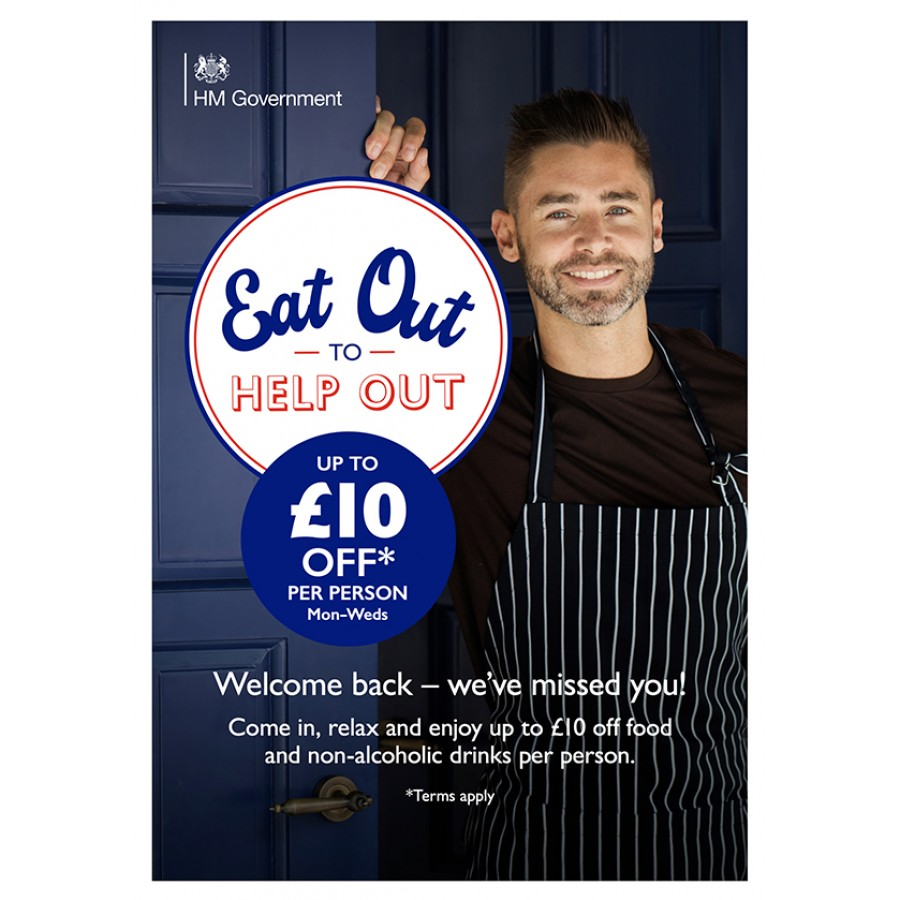 Eat Out to Help Out Poster v3