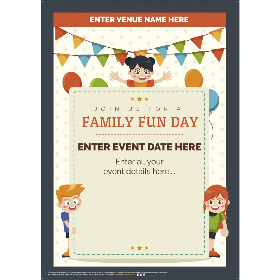 Family Fun Day Poster (A2)