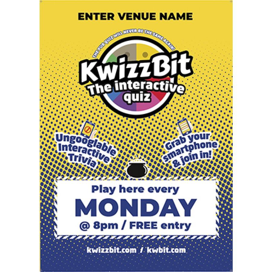 KwizzBit 'Belly' Quiz Poster