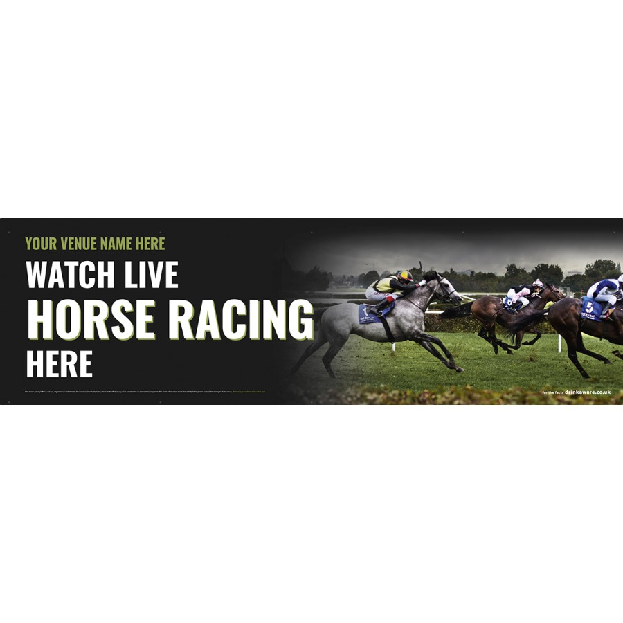 Watch Horse Racing Banner (Lrg) v2