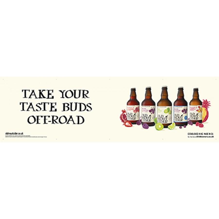 Old Mout Cider Generic Banner (5 bottles)