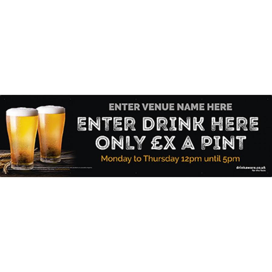 Drink offers Banner (2pint) (Lrg)