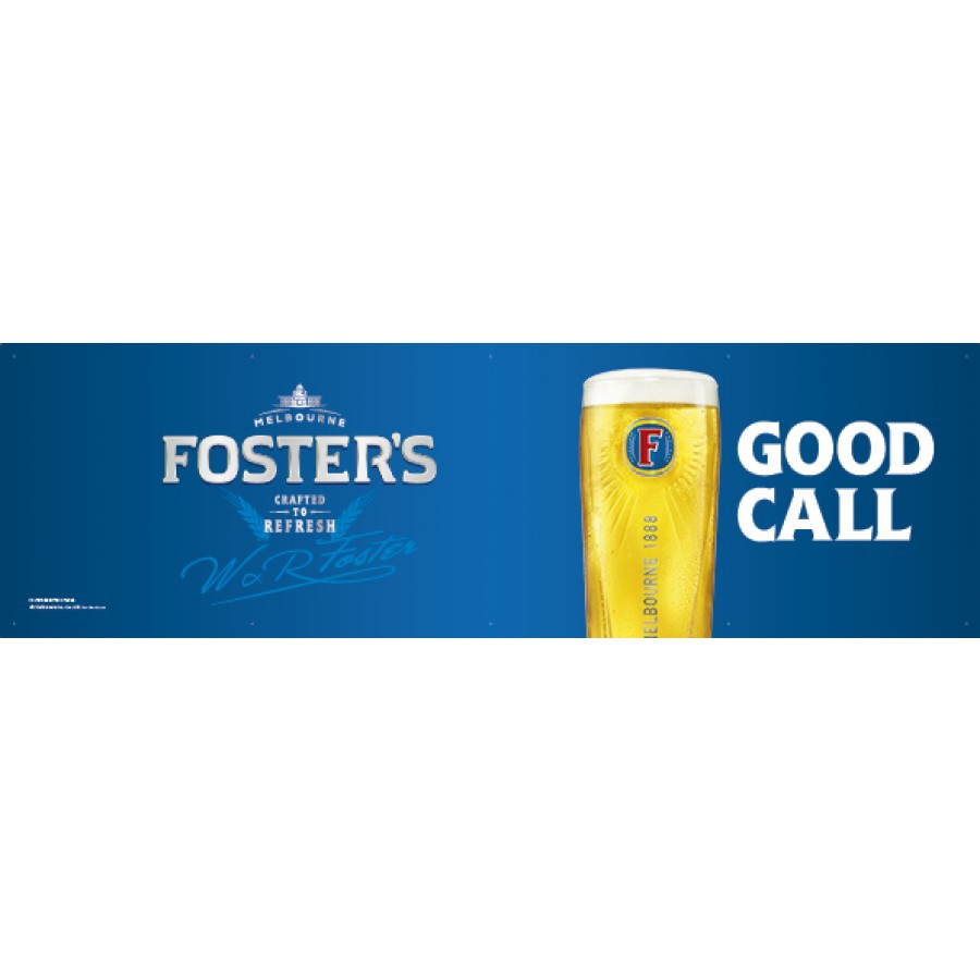 Fosters Generic Banner