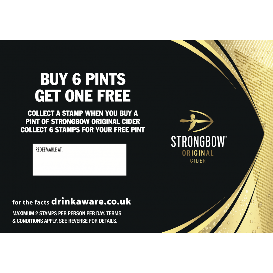Strongbow Collector Cards (200 per bundle) (incl' card stamp)