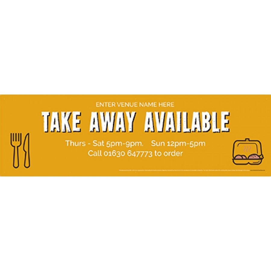 Take Away (v7) Banner