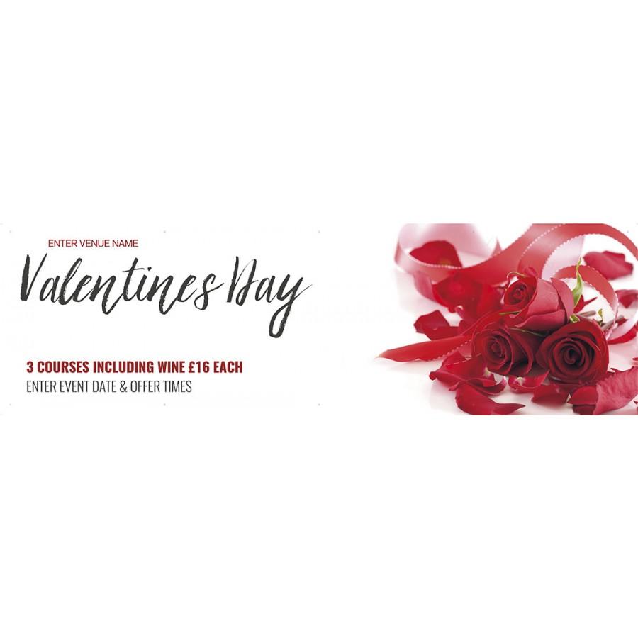 Valentines Day Banner (XL10')