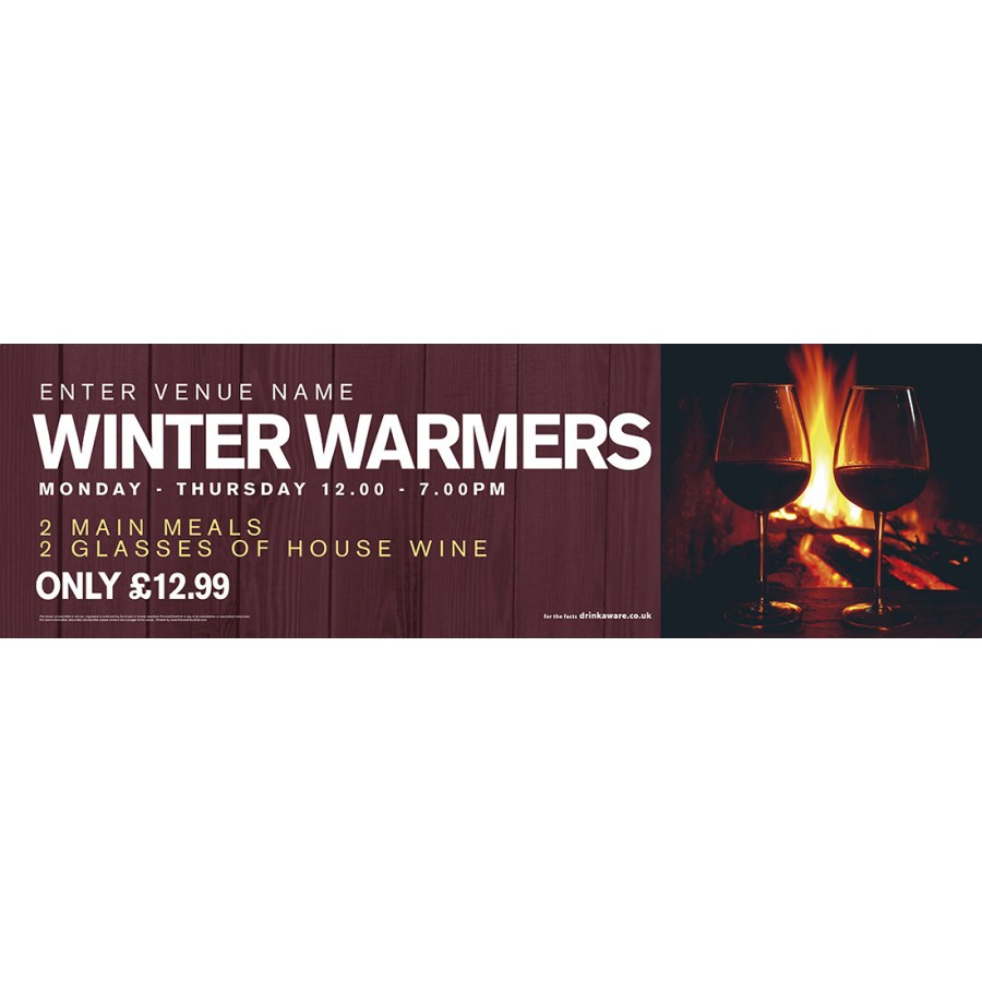 Winter Warmers Banners (Lrg)